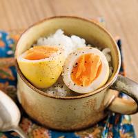 味付け卵(カレー味)