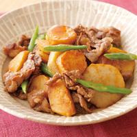 牛肉と里芋のすき煮