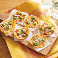カリカリおつまみチーズ2種(枝豆×しらす・枝豆×ベーコン)