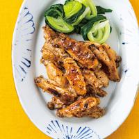 鶏スペアリブの中華風マリネ焼き