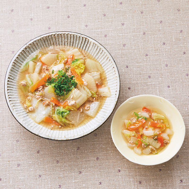 レシピ 白菜 あんかけ