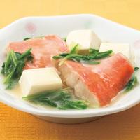 金目鯛と豆腐の中華あん