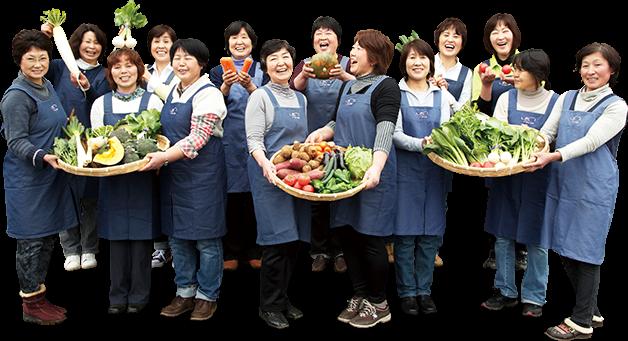 佐原農産物供給センター(千葉県)「農め~くくらぶ」のお母さんたち